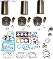 New Overhaul Rebuild Kit STD With Liner For Kubota D750 Engine