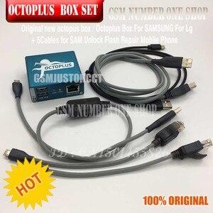 Image 2 - Originele nieuwe octoplus doos octopus box 6 in 1 set (DOOS + 5 PC KABEL) geactiveerd voor LG samsung Unlock Flash Reparatie Mobiele Telefoon