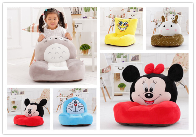 super-cute cartoon children plush single sofa personalized childrenu0027s washable beanbag. wholsale soft  sc 1 st  AliExpress.com & super cute cartoon children plush single sofa personalized ...