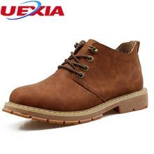Новые модные мотоботы sankle ботинки кожаные мужские ботинки высокое качество дышащая работы ковбойской Мужская обувь короткие боты