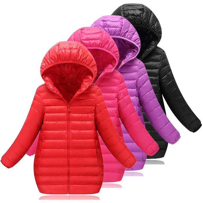 Children's Clothing Little Girls Baby Boys Winter Outerwear Warm Duck Down Coats Light Down Jackets Parkas Winter Spring Summer casual 2016 winter jacket for boys warm jackets coats outerwears thick hooded down cotton jackets for children boy winter parkas