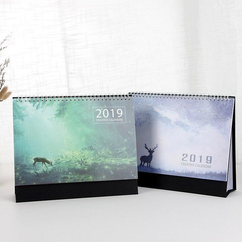 Office & School Supplies Sporting 2019 Simple Series Perpetual Calendar Diy Desktop Calendar Agenda Organizer Daily Schedule Planner Calendar
