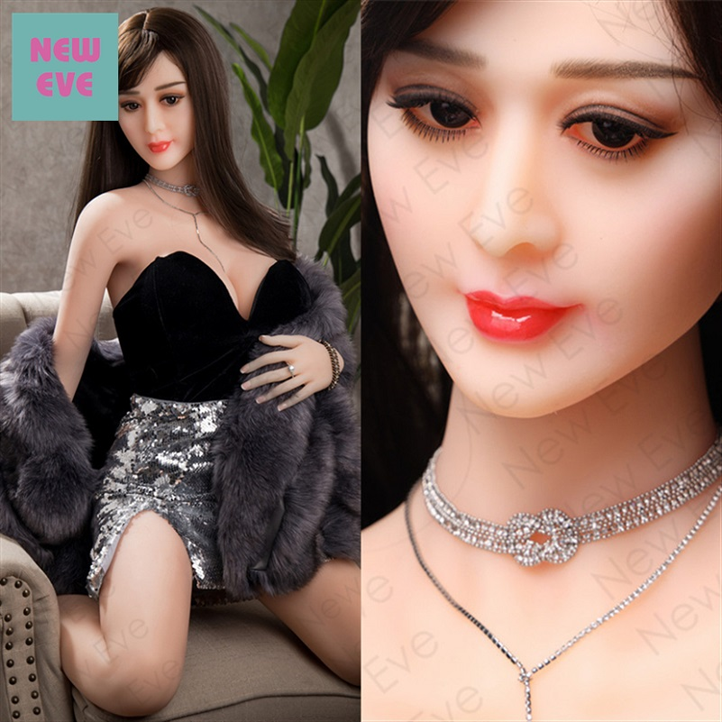 Chinese Adult Real Sized TPE Sex Love Doll Head Boob Silicone Big Tits Vagina Pussy Anal Oral 168cm Sex Toy For Men Huge Ass