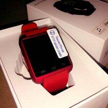 Bluetooth Smart Uhr Mode Lässig Android Uhr Digitale Sport Handgelenk GEFÜHRTE Uhr Paar Für iOS Android Phone U8 U9 U80 Smartwatch