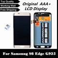De calidad superior del lcd para samsung galaxy s6 edge g925 g925i g925f g925v reemplazo de pantalla lcd de pantalla táctil digitalizador asamblea