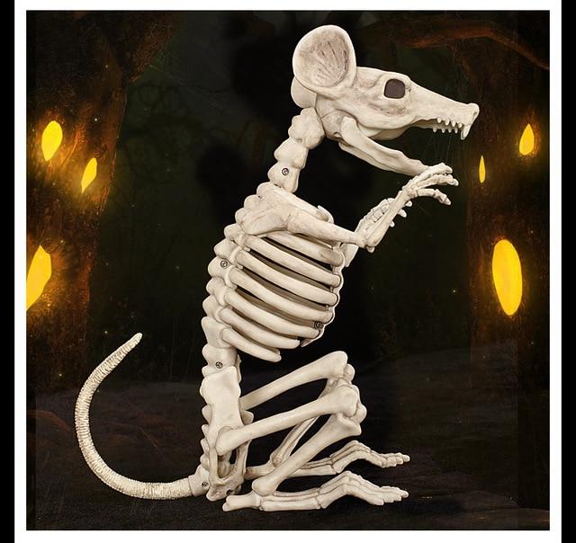 Alta calidad esqueleto rata ratón 100% animales de plástico ...