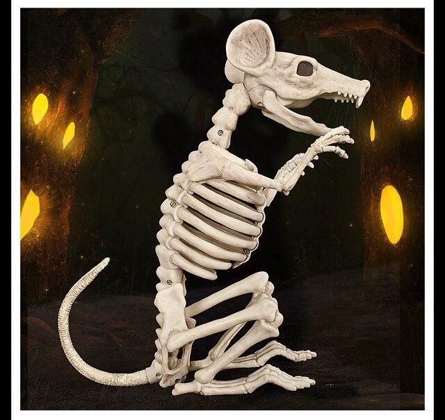 Bekend High Qualtity Skeleton Rat Mouse 100% Plastic Animal Skeleton  #EV14