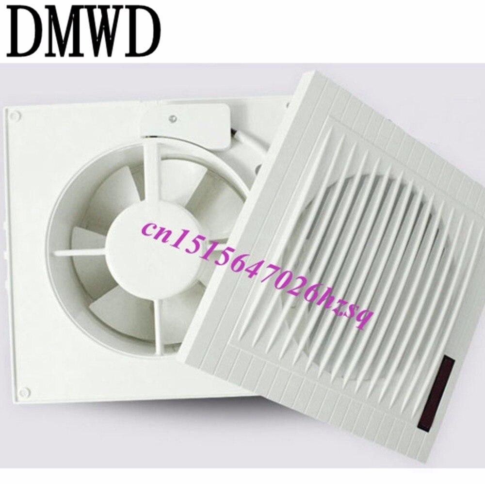 DMWD Kitchen Ventilator 6 Inch Ultrathin Advanced ABS Cover High   Quality  Copper Kitchen Bathroom Ventilator