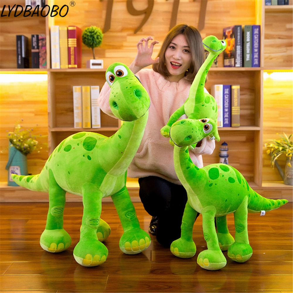 75cm Huge Size Cartoon Dinosaur Stuffed Plush Doll Baby Soft Simualtion Dinosaur Animal Pillow Figure Toy Children Gift Home Dec dinosaur toy stuffed soft dinosaurus speelgoed action figure animal dinosaurio doll learning