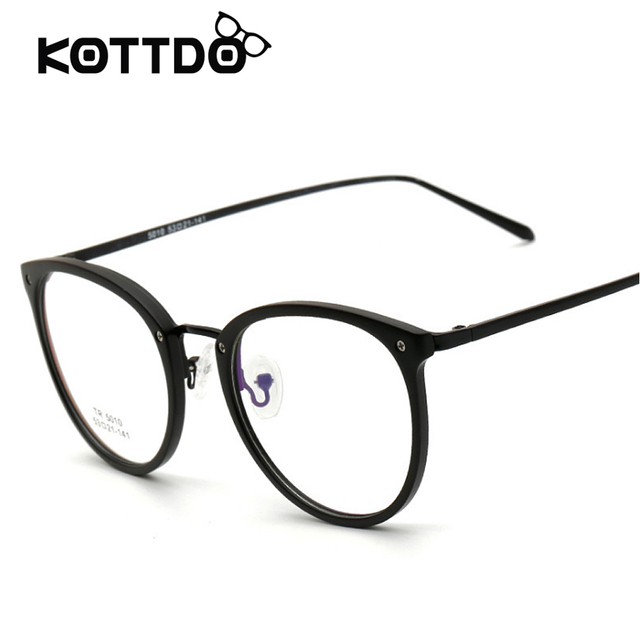 high Quality Eyewear Round Eye glasses Women Fashion Designer ...