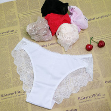 749a78304ee4 Sexy pant gauze underwear lace perspective women Sexy lingerie women lace  pants exposed female G-