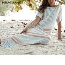 2019 Spring Striped Split Women Dresses Casual Cotton Linen O Neck Short Sleeve Beach Dress Elegant Maxi Long Dresses Vestido цена