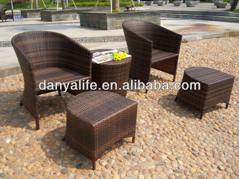 Exceptionnel DYBS D5204,Garden Patio Bistro Set, Outdoor Restaurant Table Chair, Wicker  Rattan Cane Cafe Table Chair Set, 2 Seat Coffee Table In Garden Sets From  ...
