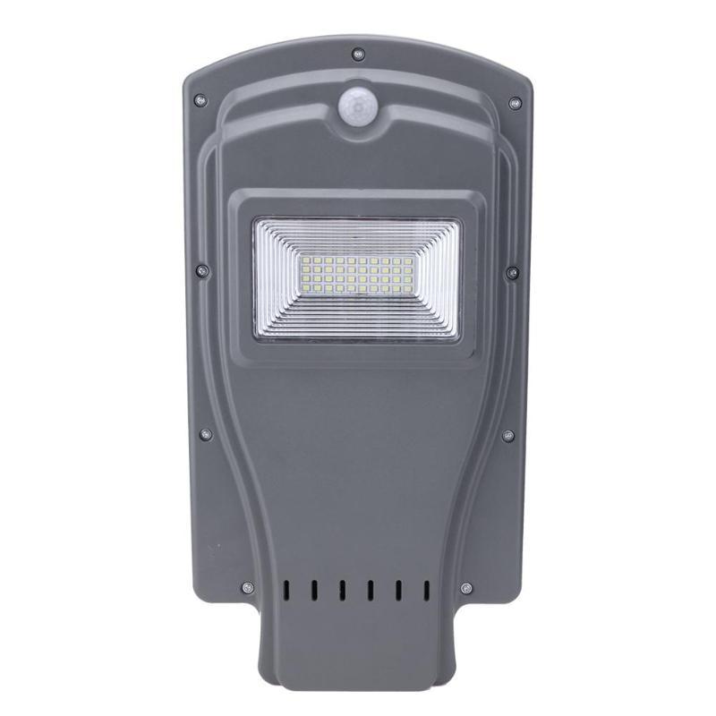 Outdoor waterproof 20W 40LED Solar Street Light LED Garden Yard Motion Sensor Lamp Wall Lamp Light Control&Radar Control Mode cmi 5w 12v 40lm 6000k 3 led motion control waterproof white light solar wall lamp black