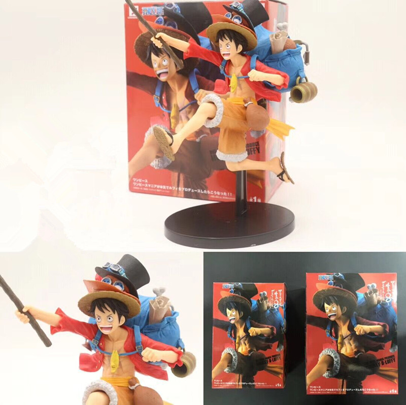 Anime One Piece Monkey D Luffy Gladiator Lucy Pvc Figure Collectible Model Toy Products Are Sold Without Limitations Toys & Hobbies