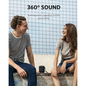 Anker Soundcore Motion Q Portable Bluetooth Speaker 360 Speaker with IPX7 Waterproof Dual 8W Drivers for Louder All-Around Sound 1