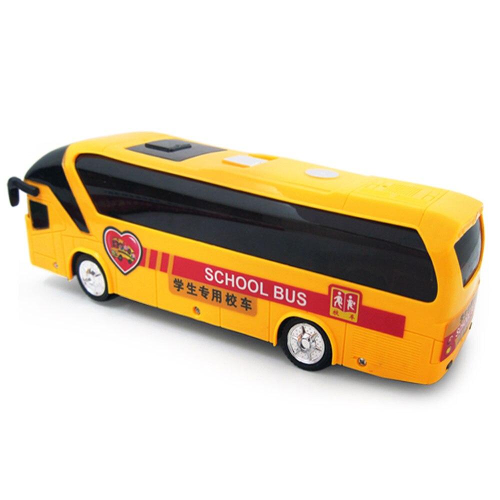 Модель игрушечной машины автомобиль желтый электрическая музыка безопасность Diy подарок школьный автомобиль пластиковый Свет Дети интересный интеллект электрический автобус