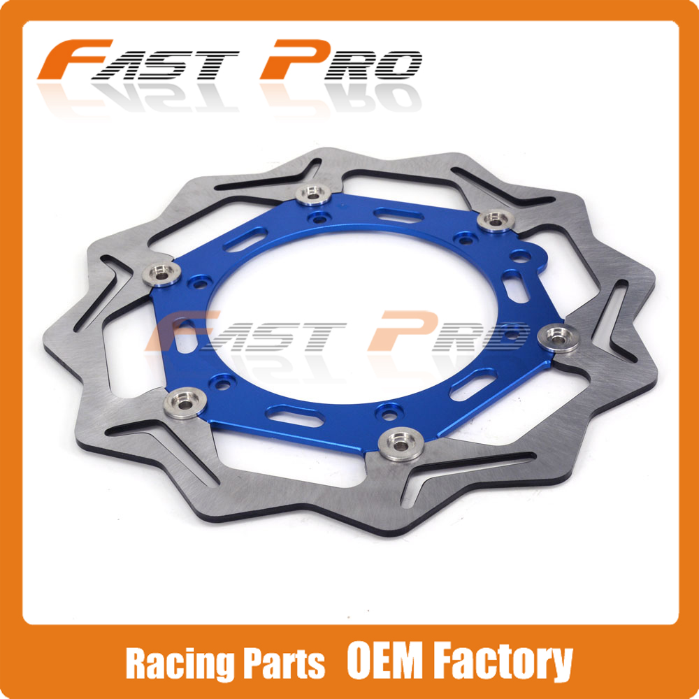 270MM Front Floating Brake Disc Rotor For Husaberg FE125 FE250 FC125 FC250 FE390 400 FE450 FC501 FE 550 570 FC 600 FE FS FX 650 keoghs motorcycle brake disc brake rotor floating 260mm 82mm diameter cnc for yamaha scooter bws cygnus front disc replace