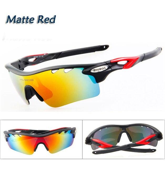 2de1a945de Moda hombre gafas de sol polarizadas deportivos profesionales 5 objetivo  intercambiable Unisex deportes gafas de sol