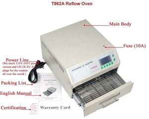 Image 4 - SMT Production line: CHM T36VA Vision Pick and Place Machine chmt36va + 3040 Stencil Printer + Reflow Oven T962A