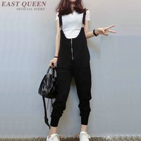 overalls for women black zipper jumpsuits for women 2018 AA3658 Y