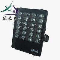 24 светодиодный s светодиодный белый свет 48 w опознание номерного знака CCTV Камера ночного видения заполняющий свет для видеонаблюдения Камер