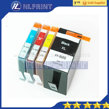 4pcs Compatible ink cartridge hp920 920xl  for hp Office jet 6000 Officejet 6500 Officejet 6500 Wireless 6500A  7000 7500 7500A