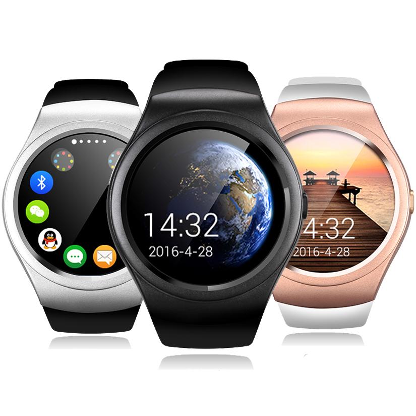 Prix pour Smart watch montre-bracelet bluetooth smartwatch écran tactile sim tf carte pour android ios pk kw18 k88h a9 montre