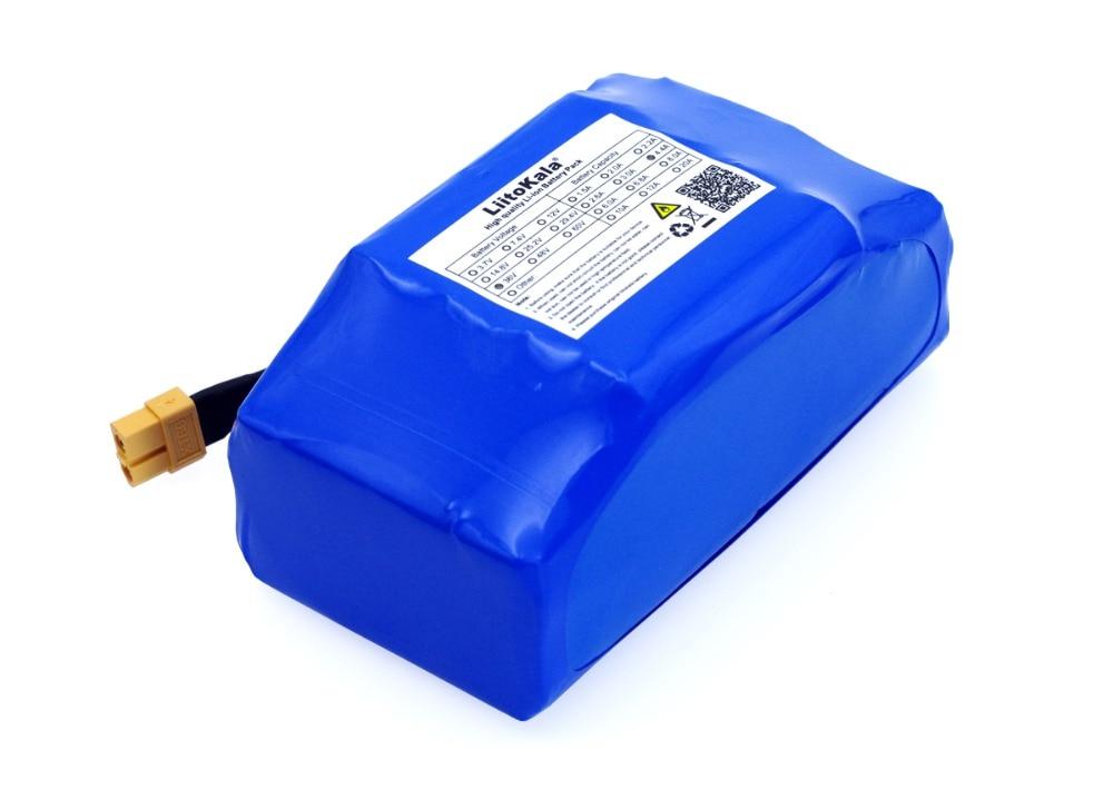 Batterie au lithium-ion Rechargeable du paquet 4400 mah 4.4AH de batterie de li-ion de 36 V pour le monocycle électrique de hoverboard de scooter d'équilibre d'individu - 4