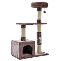 Pet Climbing Toy Cat Kittens Climbing Tree Small Size Easily Assemble Convenient Comfortable Stable Soft High