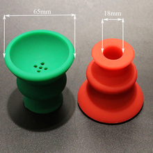 Two hookah bowls as a lot silicone shisha head chicha accessories narguile cup nargile water pipe tool