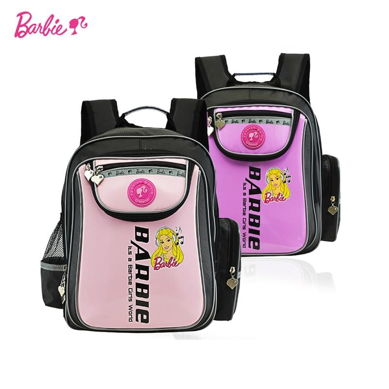8107140461 Barbie bambini/capretti elementare/ortopedico/ergonomia libri sacchetto di  scuola zaino per le ragazze di grado/classe 1 3 in Barbie bambini/capretti  ...