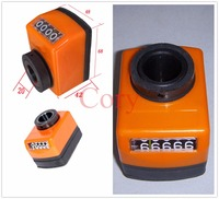 1PCS Machine Lathe Shaft Electronic Digital Position Indicator Orange 20mm Bore