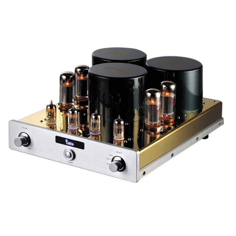 J-011 YAQIN MC-10T Intégré Tube À Vide Amplificateur SRPP Circuit EL34 * 4 UL Classe AB1 Puissance Amplificateur 2*40 w 110 v/220 v