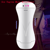 Male Masturbation Sex Vagina Real Pussy Electric Erkek Automatic Artificial Vagina Machine Pocket Pussy Adult Sex Toys For Men