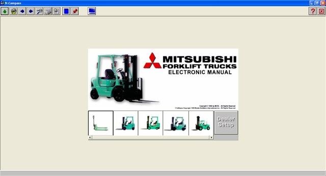 forklift electronic manual n compass for mitsubishi in software rh aliexpress com 2013 Mitsubishi Outlander Mitsubishi Sports Car