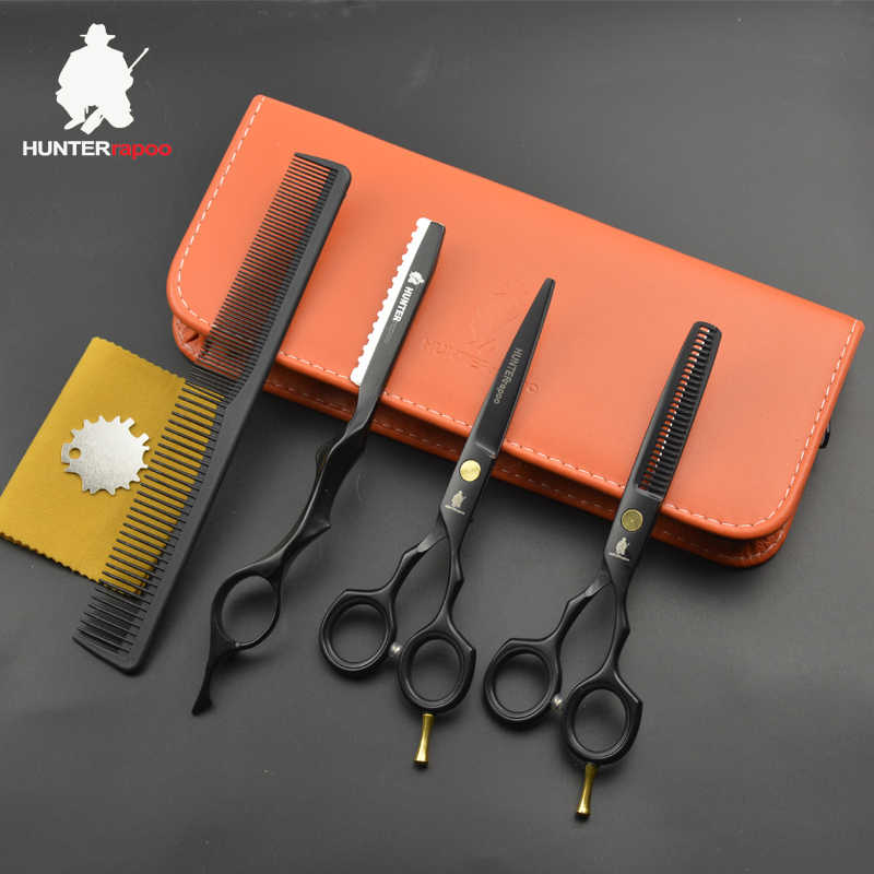 30% Off HT9131 Stainless Steel Hairdressing Scissors Set 5.5 inch Thinning Scissors hair Cutting Barber shop Scissors Kit shears