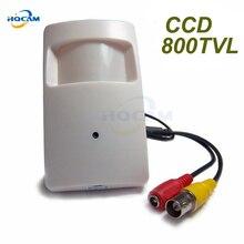 800TVL Sony CCD Security Indoor CCTV Mini PIR Style 3.7mm Lens Surveillance Camera pir mini camera pir mini camera 4151+810/811