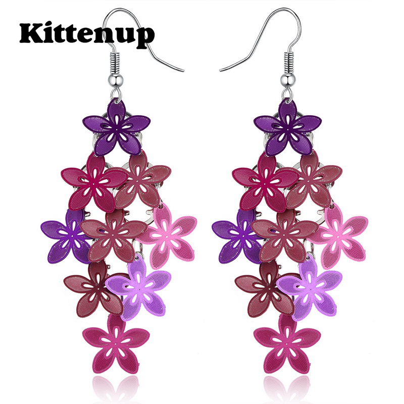 buy kittenup new fashion violet blue purple color multilayer bohemian jewelry. Black Bedroom Furniture Sets. Home Design Ideas