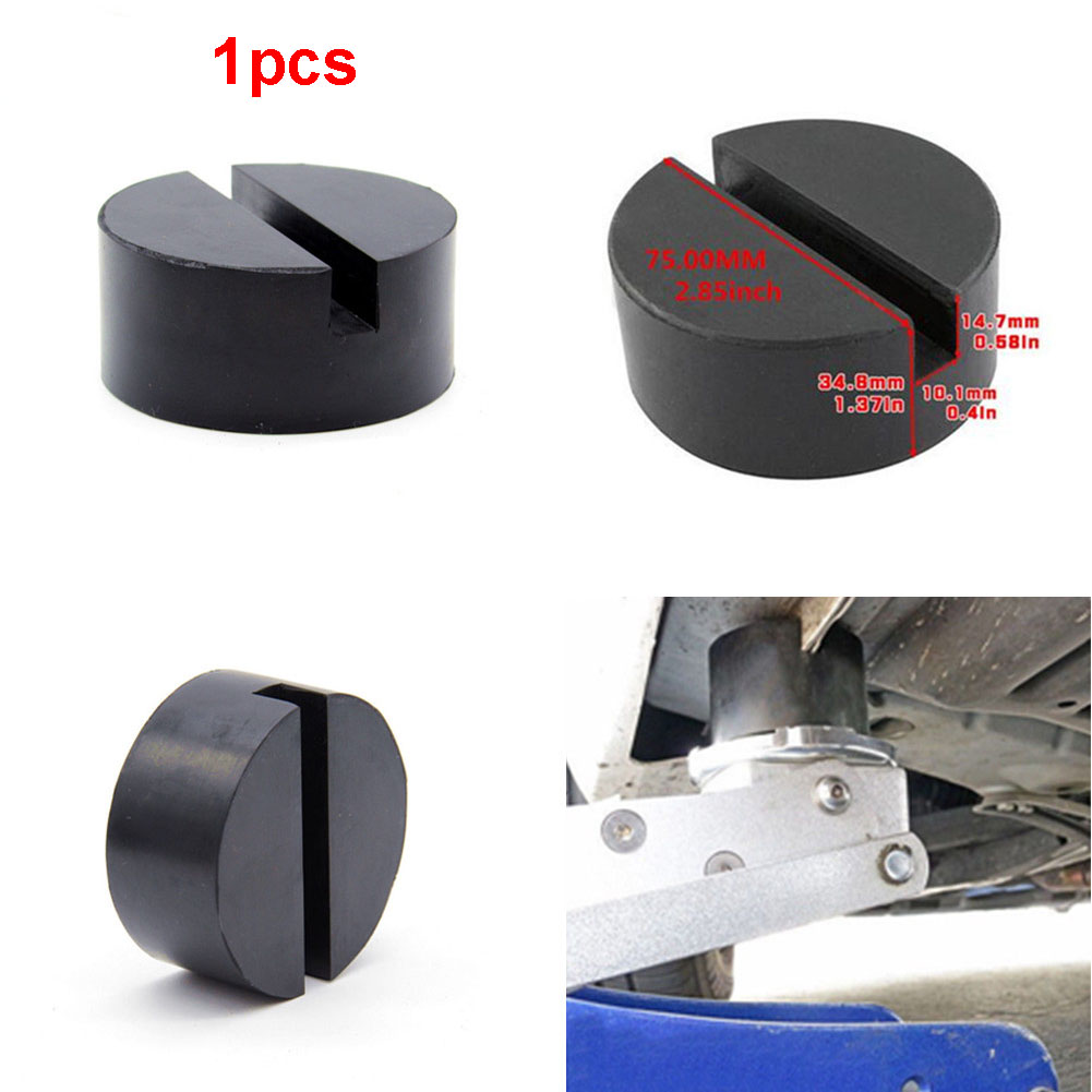 Car Rubber Jack Disk Pad Adapter Disc Pad Vehicle Universal Floor Rubber Blanket For Pinch Weld Side Rail Stand