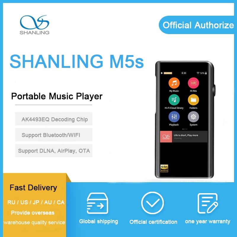 SHANLING M5s odtwarzacz AK4490EQ AD8397 32bit/768kHz Bluetooth wifi DAP kosiarki bijakowej FALC bezstratnej MP3 odtwarzacz DSD256 o wysokiej rozdzielczości audio zrównoważone w Odtwarzacze Hi-Fi od Elektronika użytkowa na  Grupa 1