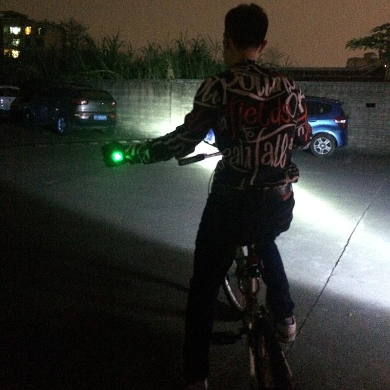 Bike Gloves With LED Turn Signal Light