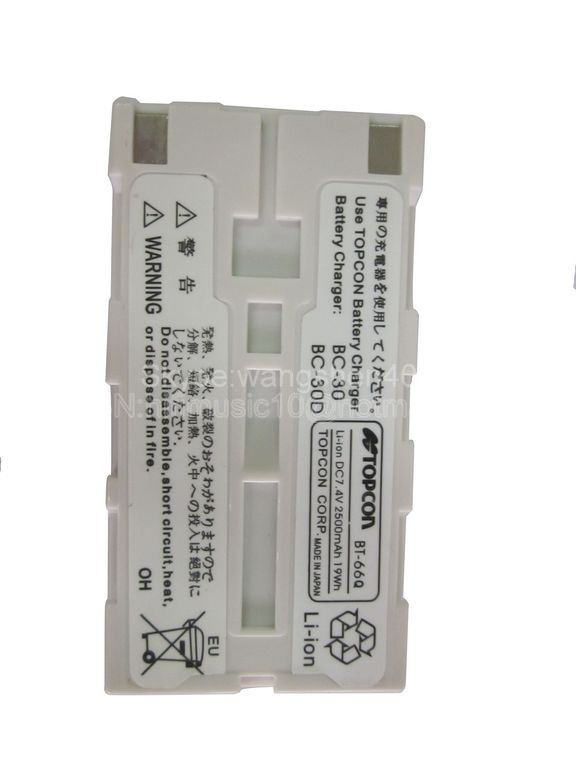 Topcon total station battery BT-66Q  цены