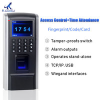 Cheaper Fingerprint Access Control Device TCP IP Employee Time Attendance with Access Control F8 Keypad RFID Biometric Access