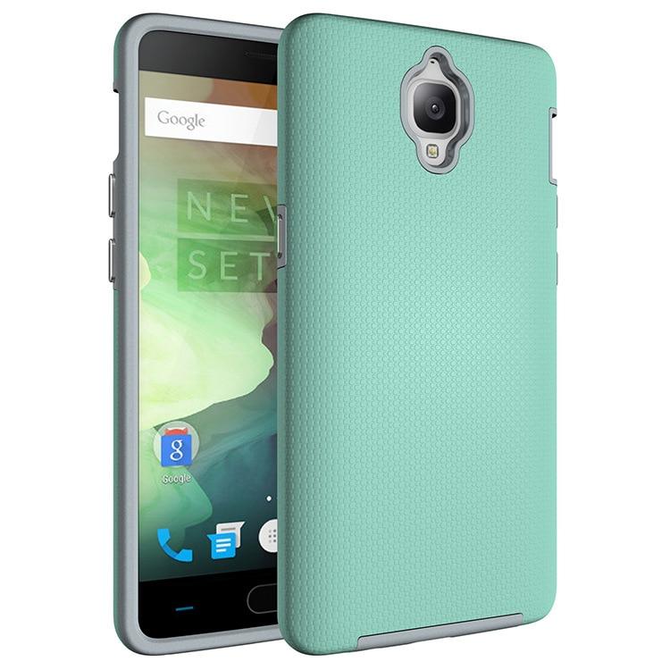 OCHGEP pro pouzdro OnePlus 3 Anti-knock TPU a PC Plastové duální těžké clony Kryt štítů pro mobilní telefon Oneplus 3T