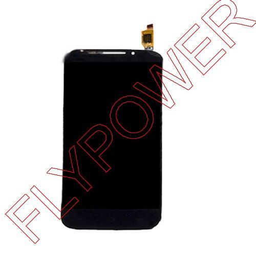 For Alcatel POP S7 OT7045 7045Y 7045 LCD Display Screen with Touch Screen Digitizer Black By Free DHL;10PCS/LOT alcatel ot 4035d pop d3 dual black fashion blue