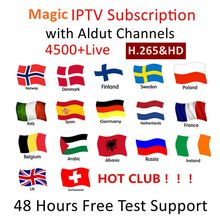 IPTV M3u Subscription Iptv UK German French Arabic Spanish Italy VOD Arabic Premium For An