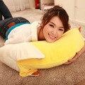 1 m Qualidade sentir bonito o Flayer banana brinquedos de pelúcia/almofadas travesseiro presente de aniversário personalizado