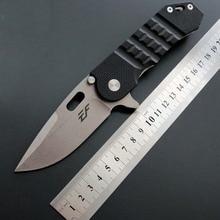 Высокий уровень твердости Открытый выживания самообороны складной нож D2 Сталь мыть красивый G10 ручка подарок складной нож