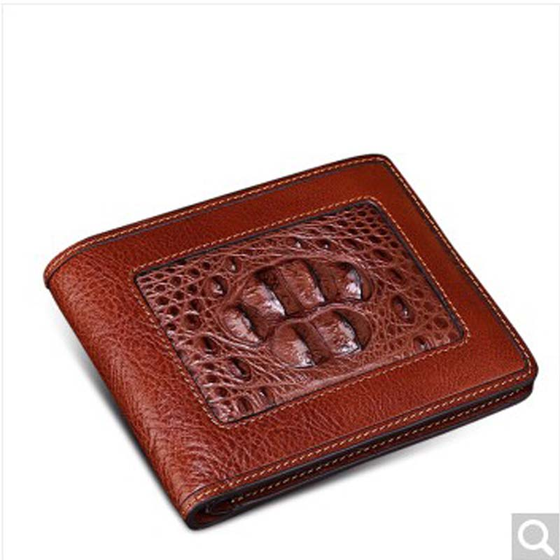 Beijue featured alligator skin with crocodile leather for men's wallets business short bi-man wallet wallets for men, vertical frank buytendijk dealing with dilemmas where business analytics fall short